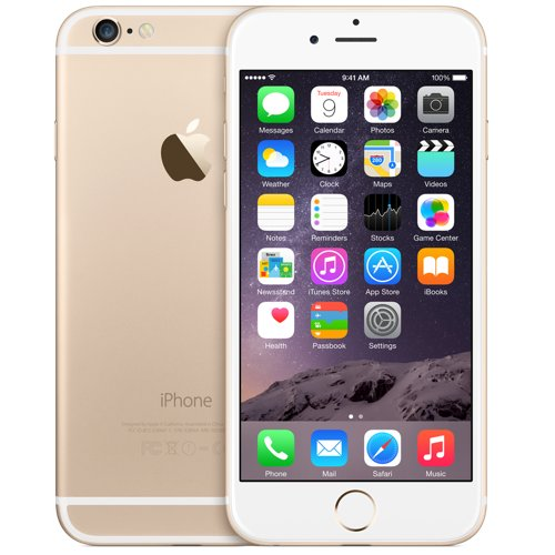 Apple iPhone 6 64Gb (Gold) title=