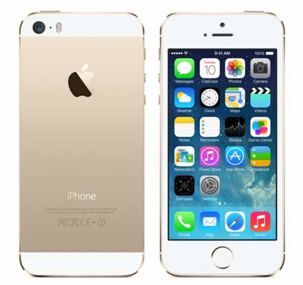 Apple iPhone 5s 16Gb (Gold) title=
