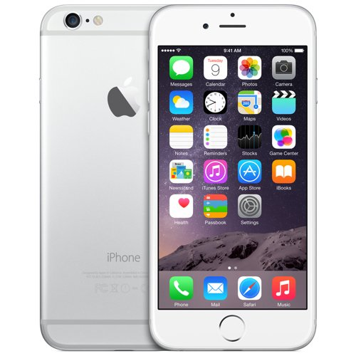 Apple iPhone 6 Plus 64Gb (Silver) title=