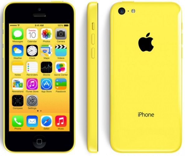 Apple iPhone 5c 16Gb (Yellow) title=