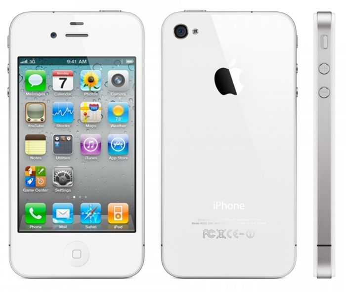 Apple iPhone 4s 16Gb (White) title=