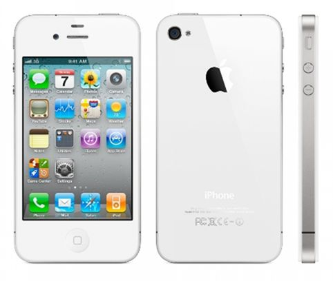 Apple iPhone 4 8Gb (White) title=