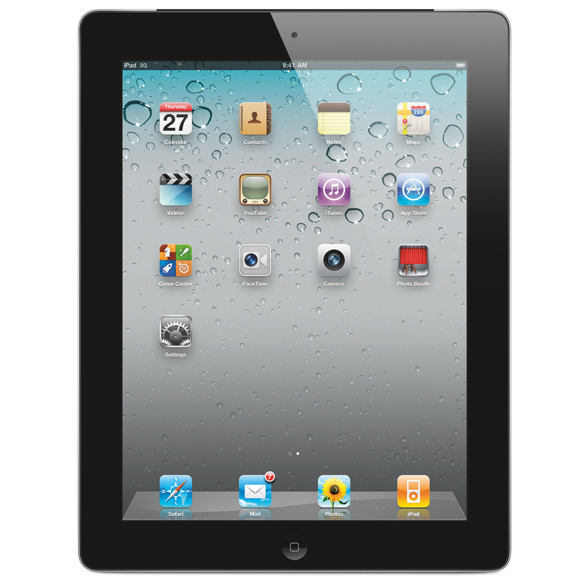 Apple iPad 4 32Gb Wi-Fi+Cellular (Black) title=