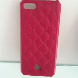 Накладка для iPhone 4 Jisoncase (розовый)
