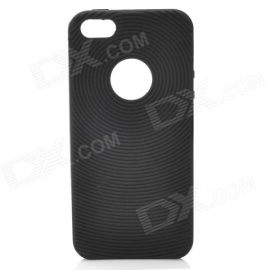 Задняя крышка для iPhone 5 Circle Style Silicone Black