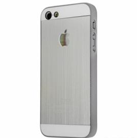 Задняя крышка для iPhone 5 оригинальная металлическая Silver
