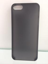 Задняя крышка для iPhone 5/5s Temei (черная)