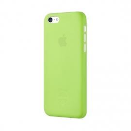 Задняя крышка для iPhone 5c Ozaki (0.3 мм) зеленая
