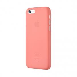 Задняя крышка для iPhone 5c Ozaki (0.3 мм) розовая