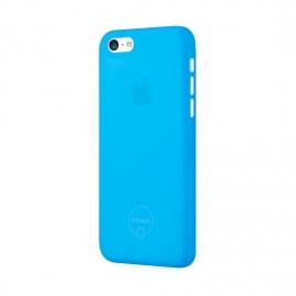 Задняя крышка для iPhone 5c Ozaki (0.3 мм) синяя