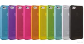 Задняя крышка для iPhone 5s Ozaki (0.3 мм)