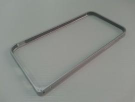 Бампер металлический iphone 6 4.7 серебряный
