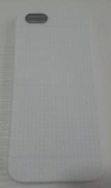 Накладка iphone 6 белая мягкий силикон