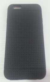 Накладка iphone 6 черная мягкий силикон