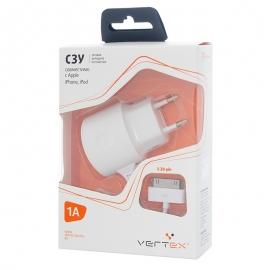 СЗУ для iPad и iPhone 4/4s Vertex Slim Line 1000 mAh