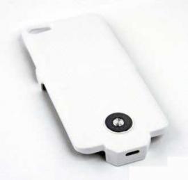 Чехол с аккумулятором для iPhone 5/5s 2400 (белый)