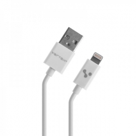 Кабель USB 5/5S/iPad mini MFI белый 1А Vertex