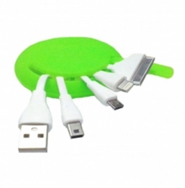 Кабель(4 в 1-м) USB iPhone 5/4/mini/micro