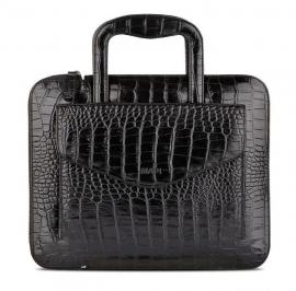 Сумка для iPad Mapi Sia Handbag Leather Black Croco (черный)