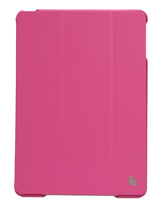 Чехол для iPad Air JisonCase Executive (малиновый) title=
