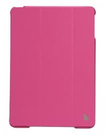 Чехол для iPad Air JisonCase Executive (малиновый)