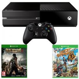 Игровая приставка Microsoft Xbox One 500Gb (Black) + Dead Rising 3 + Sunset Overdrive