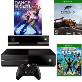 Игровая приставка Microsoft Xbox One 500Gb (Black) + Kinect + Dance Central Spotlight + Forza Motorsport 5 + Kinect Sports Rivals