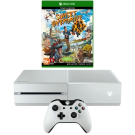 Игровая приставка Microsoft Xbox One 500Gb (White) +  Sunset Overdrive