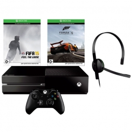 Игровая приставка Microsoft Xbox One 500Gb (Black) Forza 5 + Fifa 15