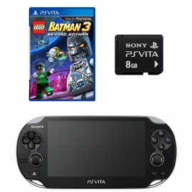 Игровая приставка Sony PS Vita Wi-Fi 4Gb (Black) + Lego Batman 3 + Memory Card 8Gb