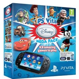 Игровая приставка Sony PS Vita Wi-Fi 16Gb (Black) + Disney Mega Pack + Memory Card 16Gb