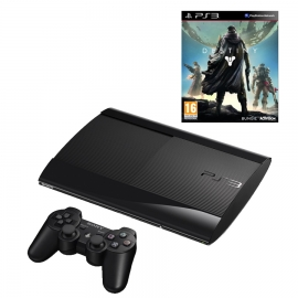 Игровая приставка Sony PS3 Super Slim 500GB (Black) + Destiny