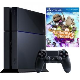 Игровая приставка Sony PlayStation 4 500Gb (Black) + LittleBigPlanet 3
