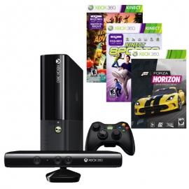 Игровая приставка Microsoft Xbox 360E 4Gb (Black)+ Kinect + Kinect Adventures + Kinect Sports + Forza Horizon