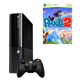 Игровая приставка Microsoft Xbox 360E 4Gb (Black)+ Peggle 2