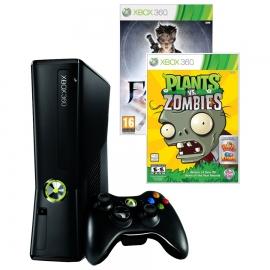 Игровая приставка Microsoft Xbox 360E 4Gb (Black)+ Fable Anniversary + Plants vs Zombies