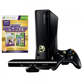 Игровая приставка Microsoft Xbox 360E 4Gb (Black)+ Kinect + Kinect Sports Ultimate