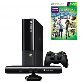 Игровая приставка Microsoft Xbox 360E 4Gb (Black)+ Kinect + Kinect Sports 2