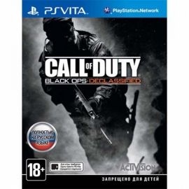 Игра для PS Vita Call of Duty. Black Ops Declassified