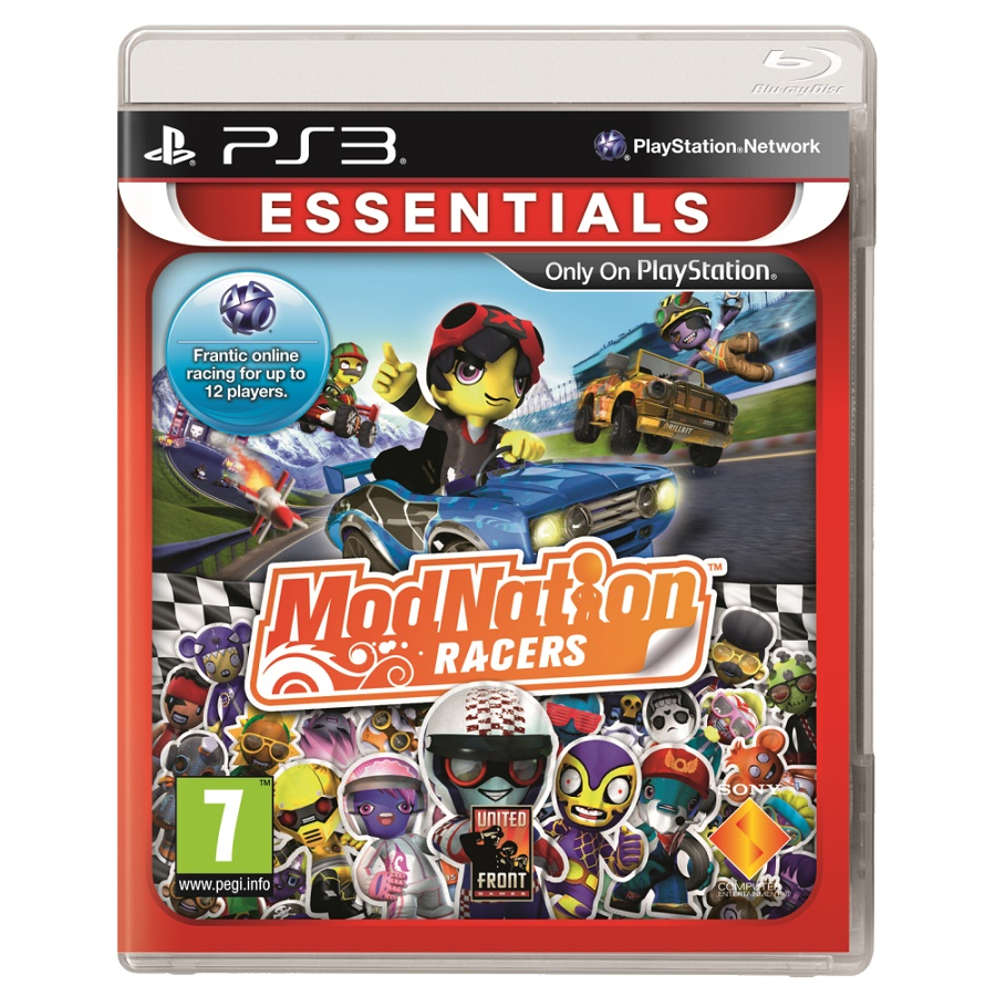 Игра для PS3 ModNation Racers (Essentials) title=