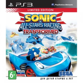 Игра для PS3 Sonic & All-Star Racing Transformed (Limited Edition)