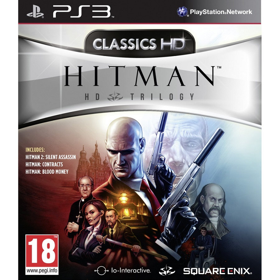 Игра для PS3 Hitman HD Trilogy title=