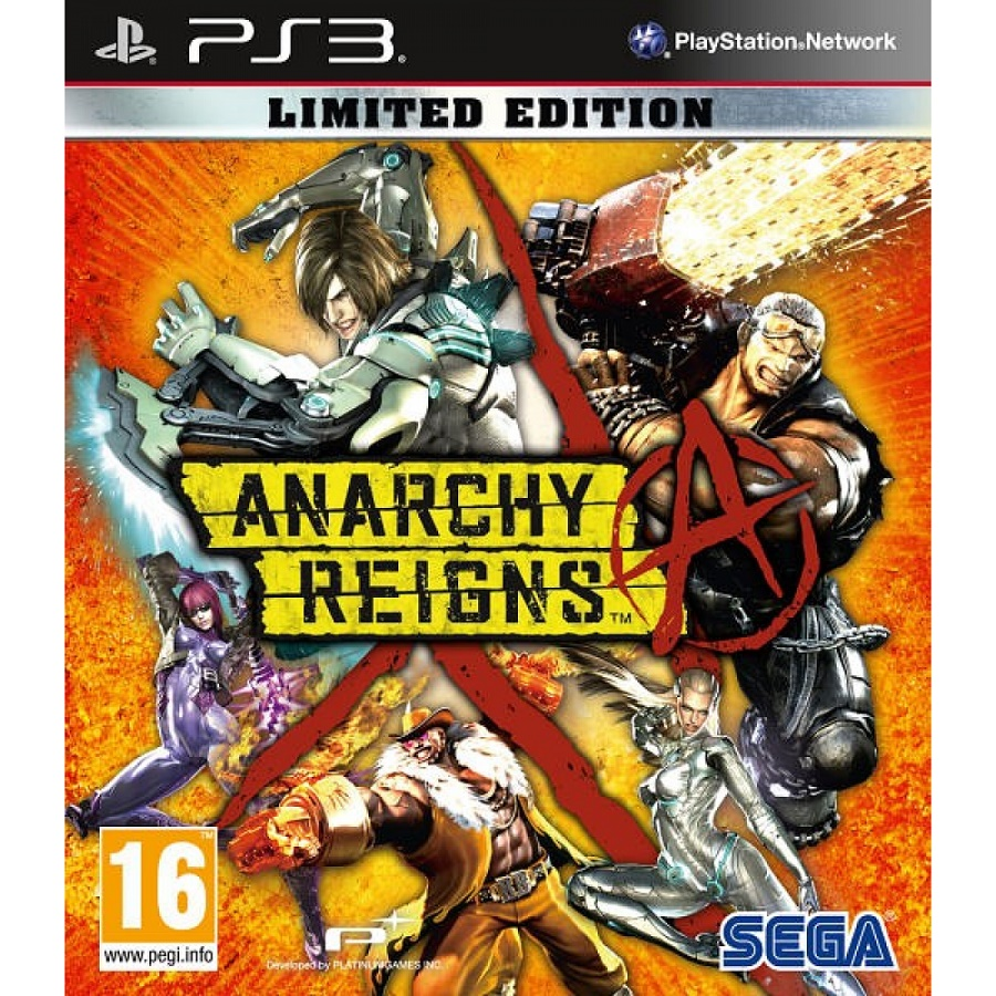 Игра для PS3 Anarchy Reigns (Limited Edition) title=