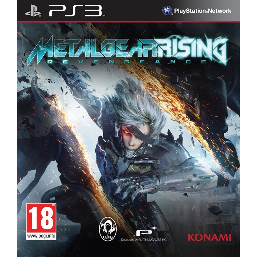 Игра для PS3 Metal Gear Rising: Revengeance title=