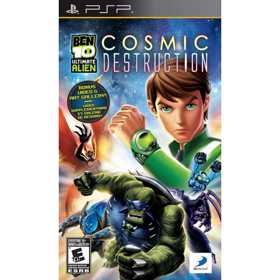 Игра для PSP Ben 10 Ultimate Alien: Cosmic Destruction title=