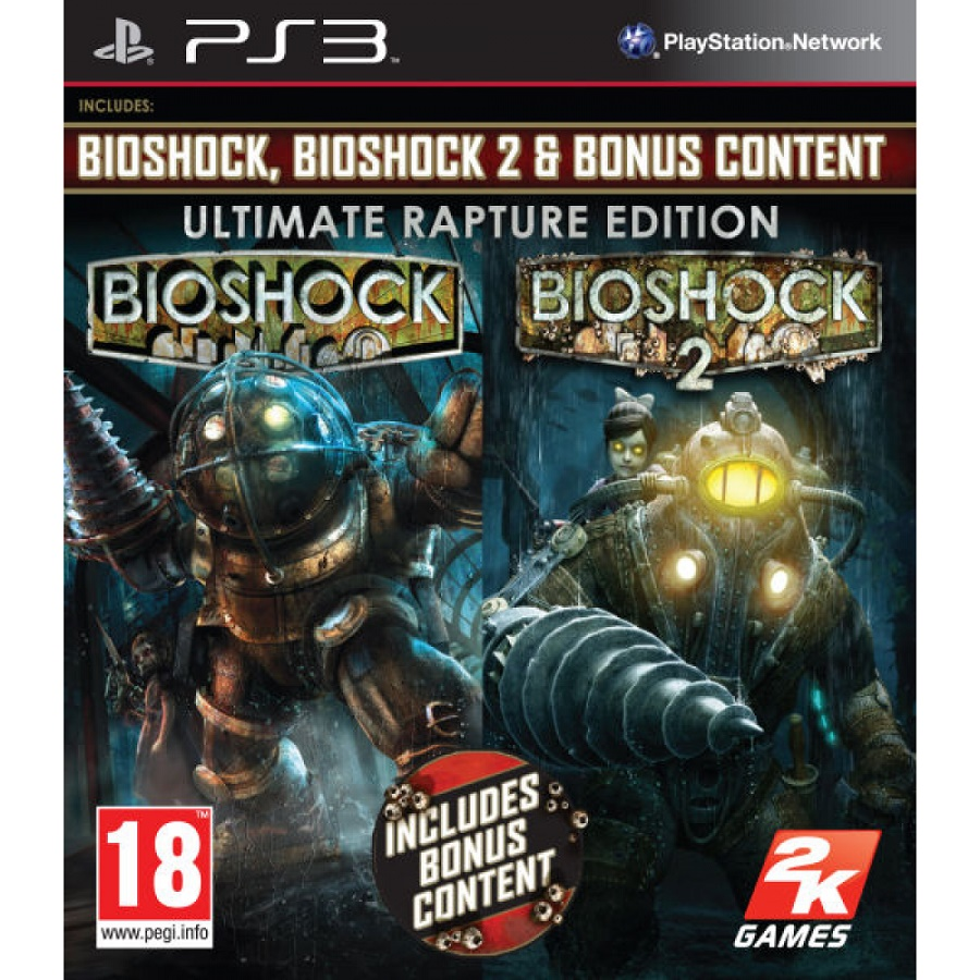 Игра для PS3 BioShock (Ultimate Rapture Edition) title=