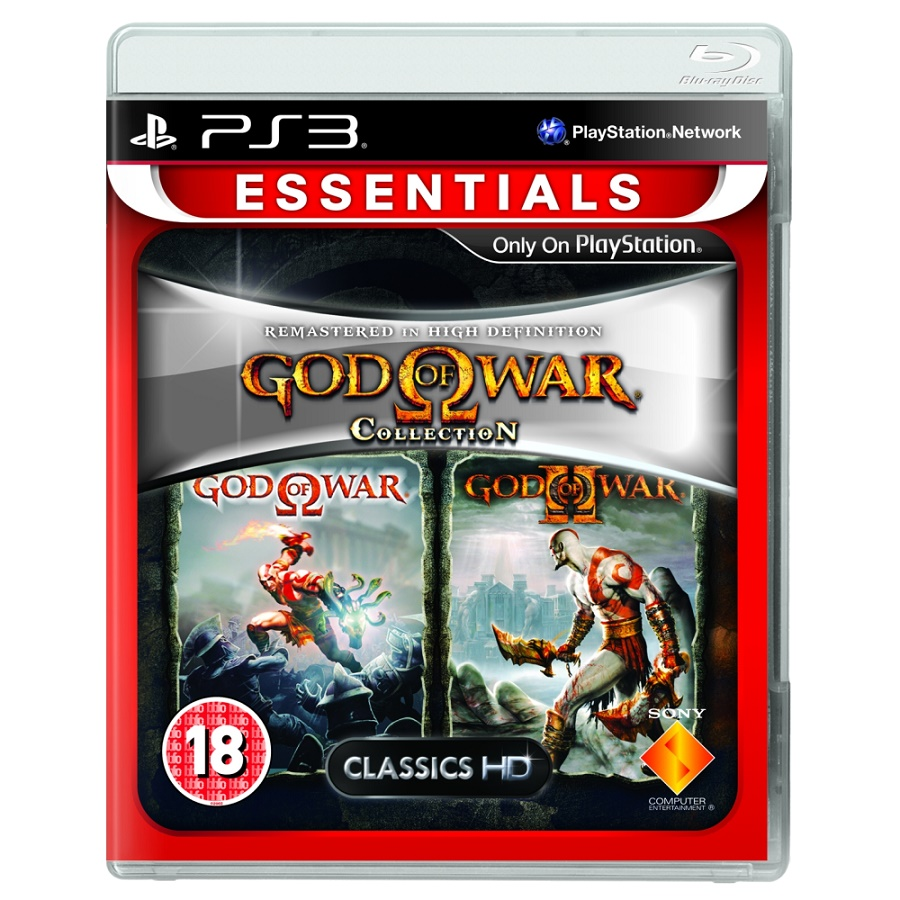 Игра для PS3 God of War Collection (Essentials) title=