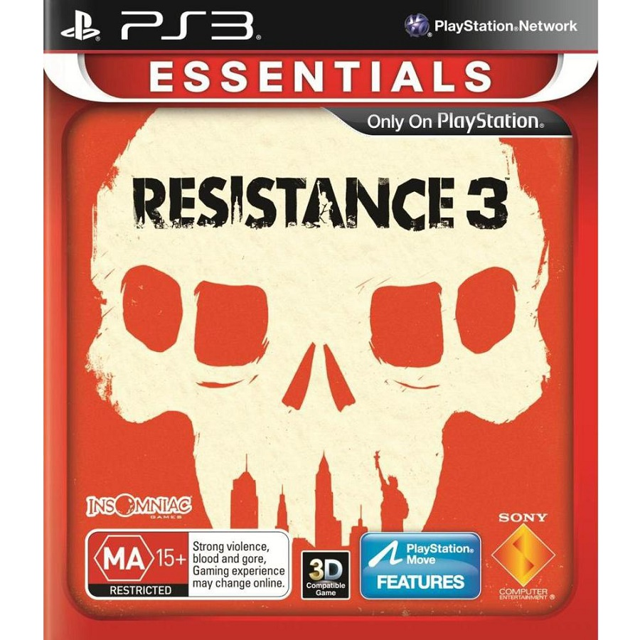 Игра для PS3 Resistance 3 (Essentials) title=