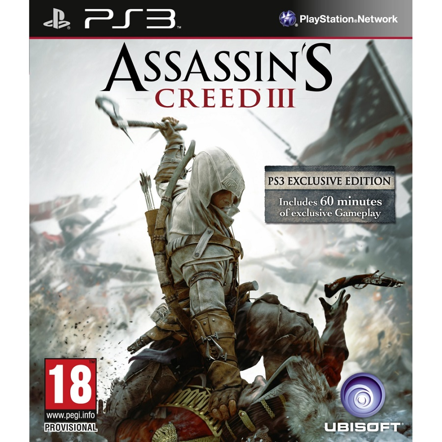 Игра для PS3 Assassin's Creed 3 (Exclusive Edition) title=