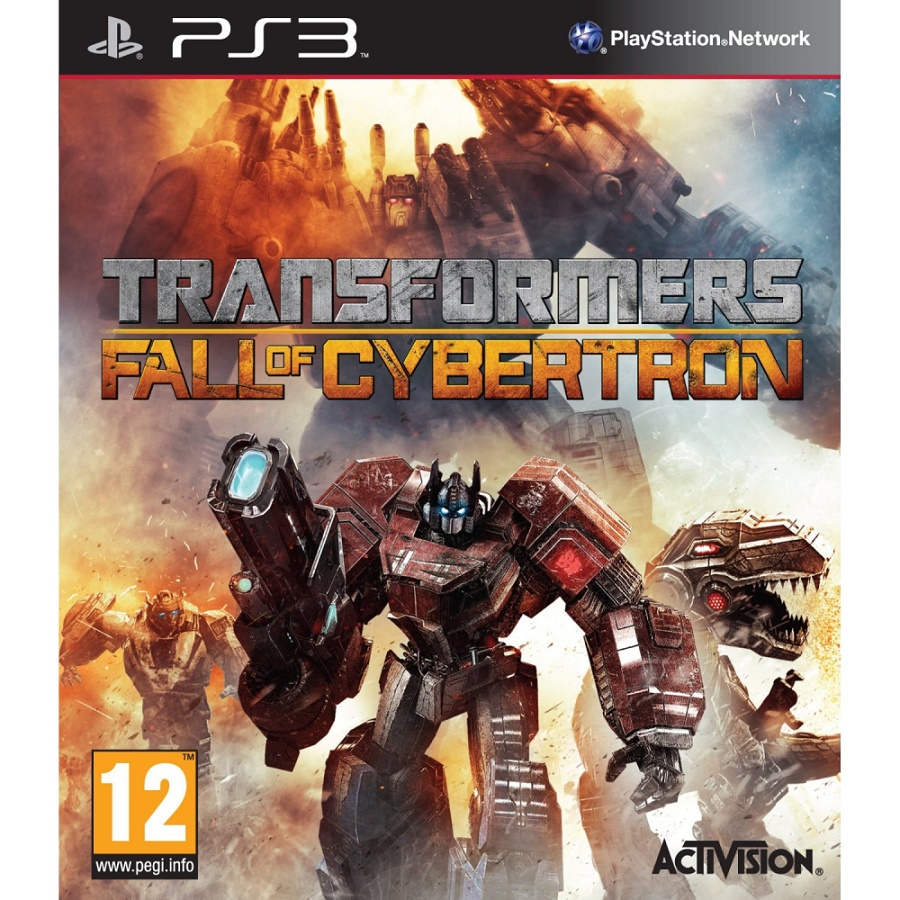 Игра для PS3 Transformers: Fall of Cybertron title=